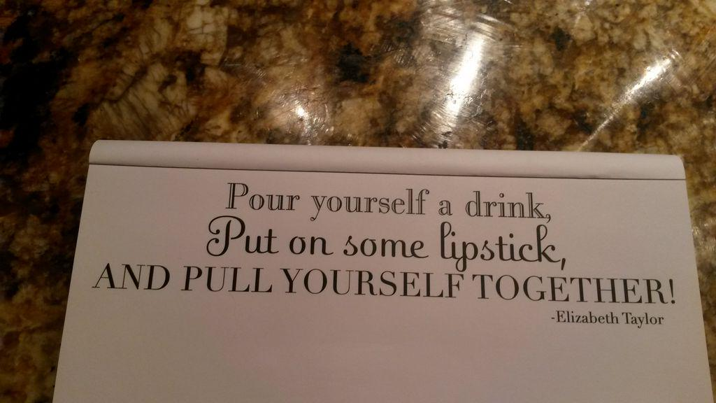 Ladies..words to live by. http://t.co/j7cvdRtm08