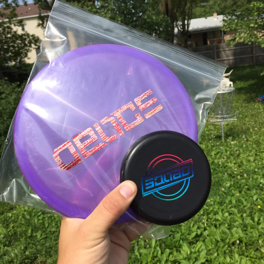 @ElBattousai @DiscraftDG that's sick Man! I was going to get one of those but decided to get this one instead http://t.co/EWYdGCa8UJ