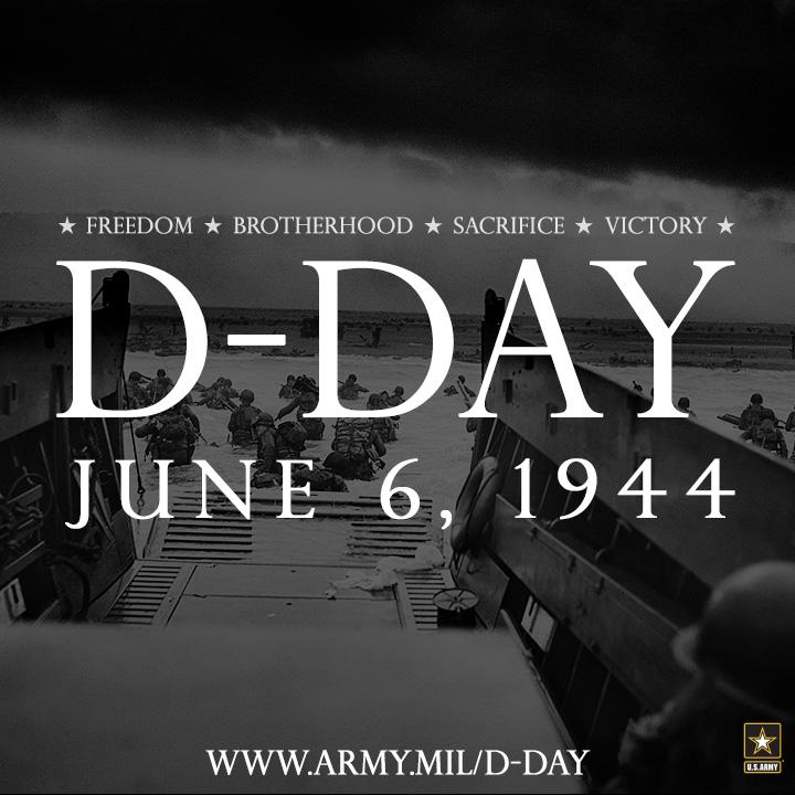 "Eisenhower gives the order of the day, ""Full victory--nothing else"" to paratroopers on #DDay, June 6, 1944. http://t.co/bKILO6WgT2"