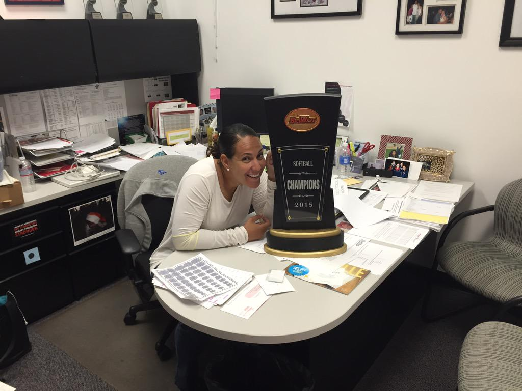 Look what came in the mail today!!!! 2015 BIG WEST CHAMPIONS http://t.co/97PIC7I3tR