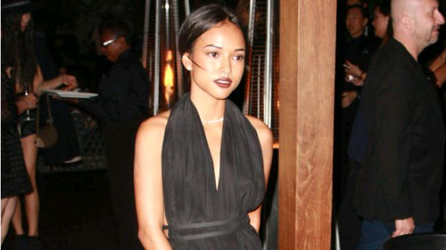 Police called after Chris Brown 'follows ex Karrueche Tran home from club'
