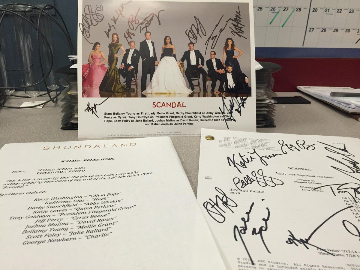 Want a signed #Scandal script & cast photo (c/o @tonygoldwyn)? Our online auction's live! http://t.co/z1Ho8p9c9f http://t.co/mWD8jAhzVE