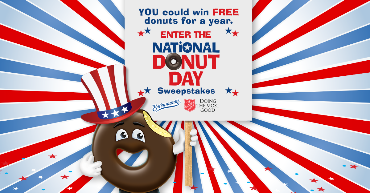 #NationalDonutDay excitement isn't over yet! Enter for a chance to win FREE donuts for a year: http://t.co/1zN0KoABKY http://t.co/xmpR5RAyb5