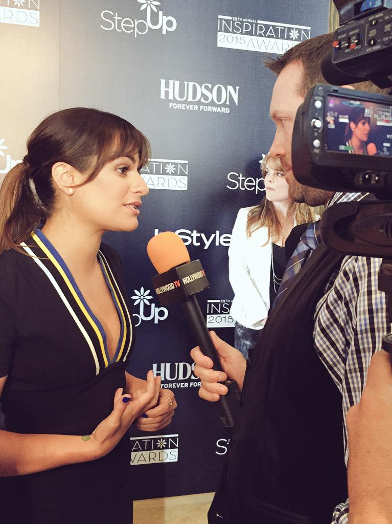 Chatting with @msleamichele at the @suwn #InspirationAwards http://t.co/ZCQkcr8oKJ