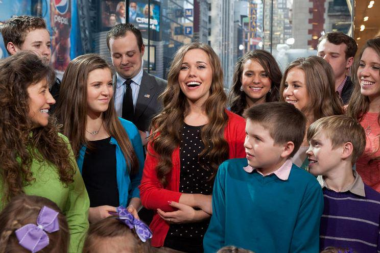 The Duggar family on MSNBC in 2015 (Credit: D. Dipasupil/Getty).
