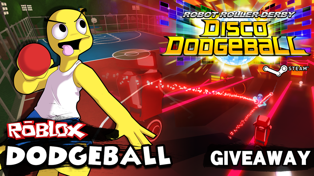 Dev of Disco Dodgeball is giving away 25 FREE Steam keys for his game w/ @ROBLOX Dodgeball's release! RT to win! :D http://t.co/91zYzA45dn