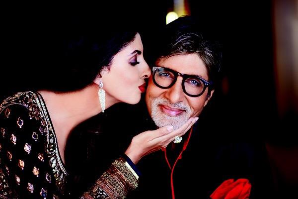 #HappyFathersDay Papa, your little big girl xx @SrBachchan http://t.co/D1bvDKk0bs