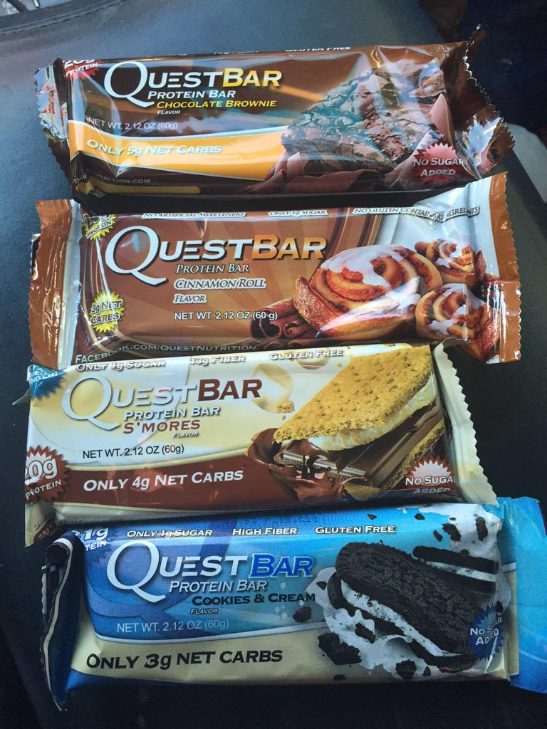 Renee Leslie (@MsReneeleslie): My kind of heaven lol #CheatClean #questbars @QuestNutrition http://t.co/Y1ZYZSasLQ