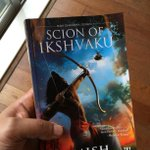 Thanks for the pre-release copy @authoramish #ScionOfIkshvaku  can't wait to get started http://t.co/lBbbYqYReq
