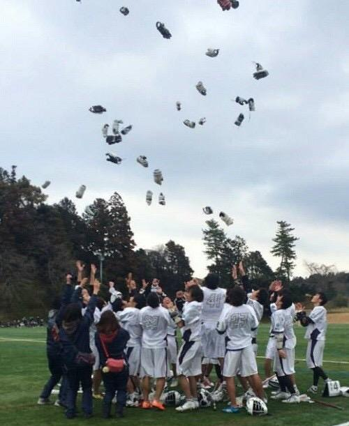 勉強ばかりだった京大生が、スポーツで日本一になる――― 京都大学男子ラクロス部の決断とクラウドファンディングプロジェクト https://t.co/CrY5UZ9Mq6 http://t.co/O6BA0aT3zX