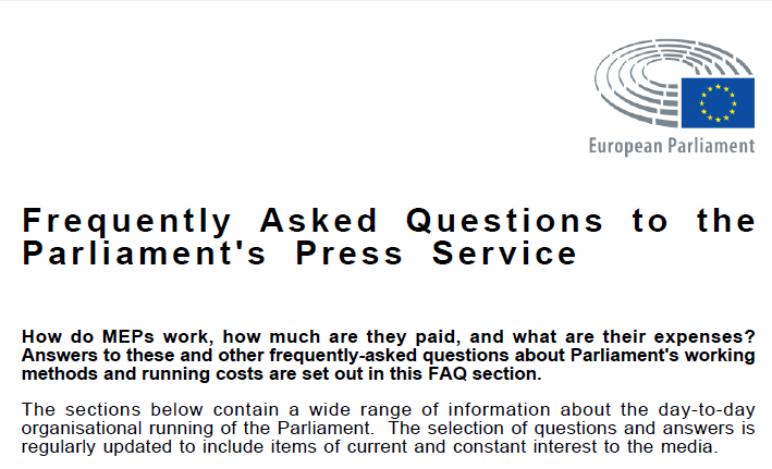 RT @EuroParlPress: The FAQ of the #EP Press service is updated: You can view & download it at: http://t.co/eK9QeIgfZu http://t.co/6iTDcEqSf6