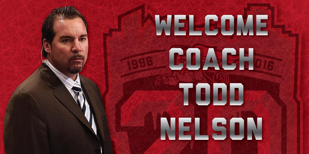 BREAKING: The @DetroitRedWings named Todd Nelson the new head coach of the #Griffins. #GoGRG http://t.co/TjxqDtsDSN