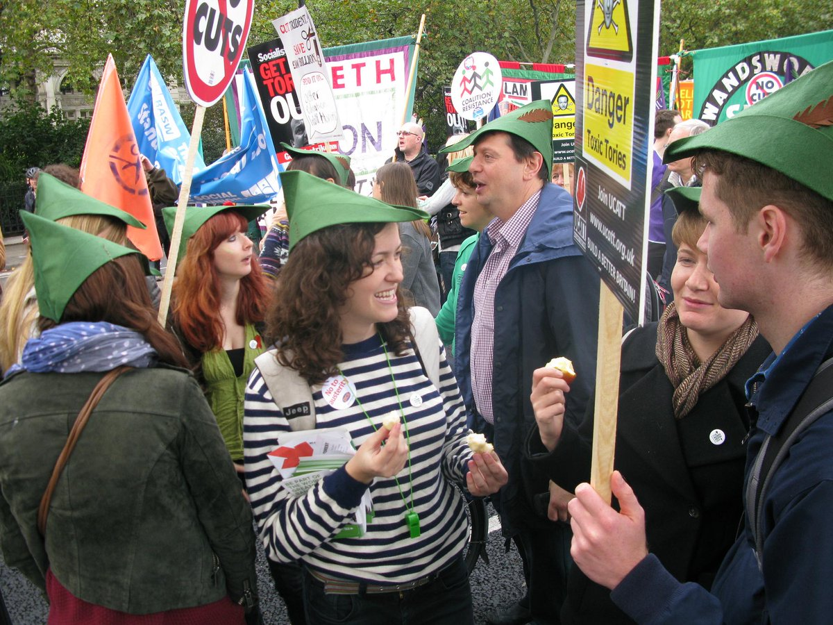 Tomorrow we'll be on the #EndAusterityNow #JuneDemo. If you'd like to join us, look for the green hats! http://t.co/dJCs3ob6zv