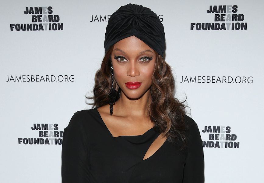 here s an unretouched photo of tyra banks without makeup