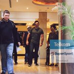 RT @CelebShootout: @GraemeSmith49 @KurtOfficial arriving at the #TSShootout  #teamSupersport #teamTelkom http://t.co/t8obPH1yTy