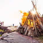 Today is Midsummer. It's the lightest time of year in Finland – time to light bonfires. Hyvää juhannusta! http://t.co/haAmkvhz0w