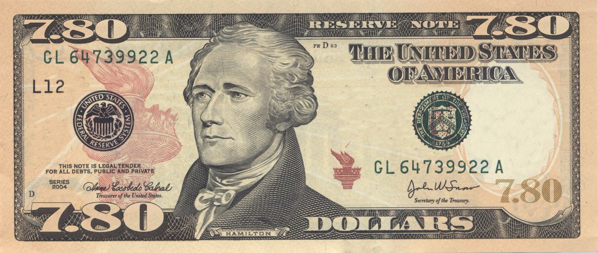 Why put a woman on the new $10 bill when we can make a small adjustment and pay their salaries with it? http://t.co/ohsMnXtucc
