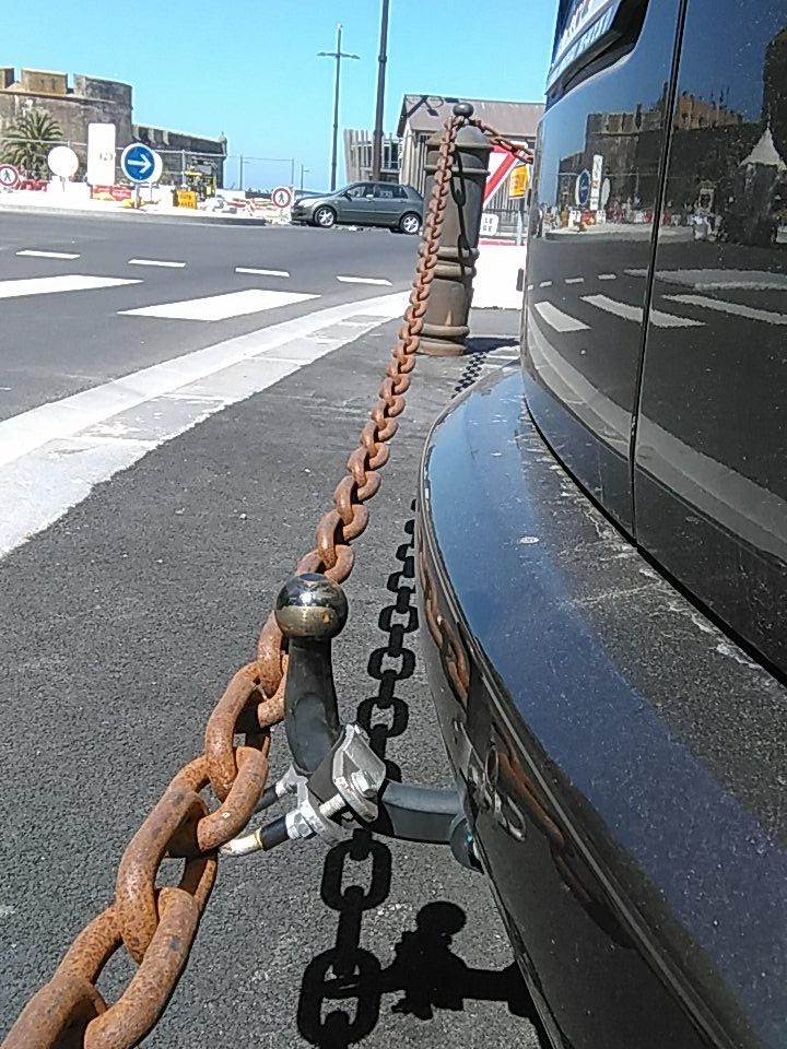 I won't but so tempted to just lift the chain onto the tow-bar.... http://t.co/su5FbhdABy
