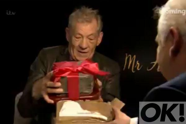 Watch as @IanMcKellen receives the best birthday present EVER: