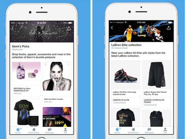 Looky here. Twitter Expands Shopping Experience With Product Pages, Collections http://t.co/ESHhYK12fg @KurtWagner8 http://t.co/IkxE6M18GI