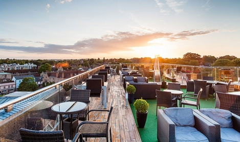 Looking for a rooftop bar to visit this weekend? These venues are seriously stylish...