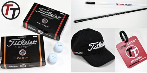 WIN #TeamTitleist prize pack including One dozen Pro V1 or Pro V1x, a hat, alignment sticks and bag tag #USOpen http://t.co/5gz8YIFRHY