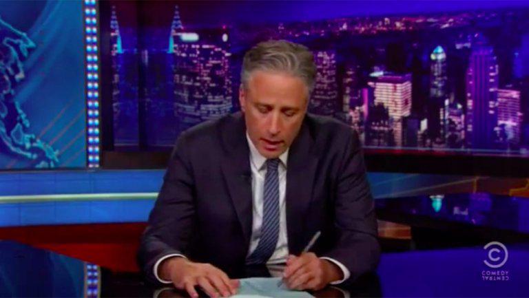 "Jon Stewart won't joke about South Carolina: ""I honestly have nothing other than just sadness"""