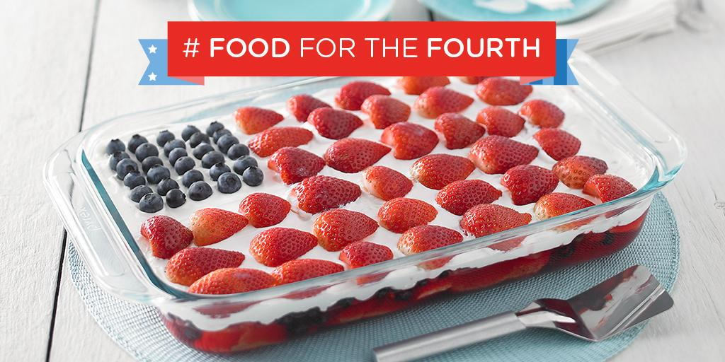 Can't celebrate America's birthday without cake! Try our Wave Your Flag Cheesecake #4thOfJuly http://t.co/06e8hBjuBL http://t.co/sSaix0hoMx