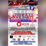 (JULY 4TH) #POOLFULLOFMONEY POOL PARTY @ THE GROVE APT (12-5PM) FREE FOOD, WATER SLIDES, PARTY BUSES & MORE... #UF19 http://t.co/CKvCuYyGdH