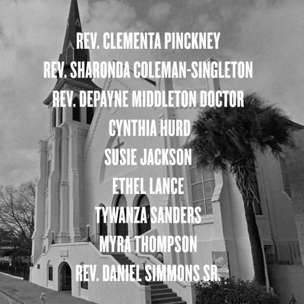 Beyoncé pays tribute to the victims of the CharlestonShooting: