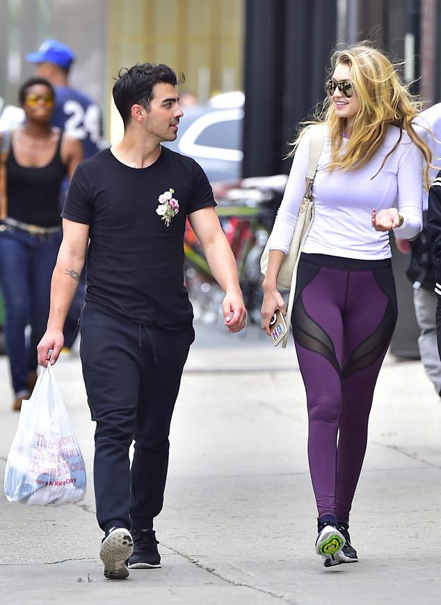 You guys are killing us. Joe Jonas & Gigi Hadid are too damn cute: