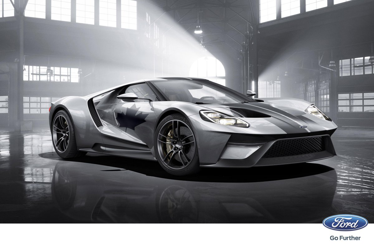 The 2017 Ford GT is built in Canada for the World! What makes you proud to be Canadian? #CanadaDay http://t.co/6OVvBiks81