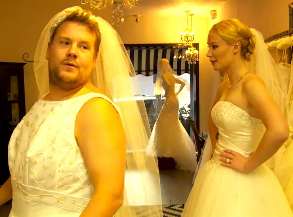 We have to admit, @JKCorden looks pretty good in a wedding dress: