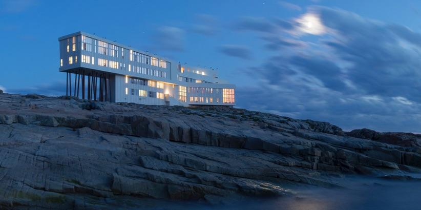 …and sharing the Social Good Award, @FogoIslandInn by Saunders Arch & @Lat49Arch w/ Shorefast Foundation #AZAwards15 http://t.co/oOvNmT3VSw