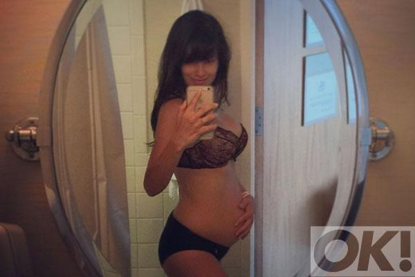 Hilaria Baldwin shows off post-baby body 2 days after giving birth: