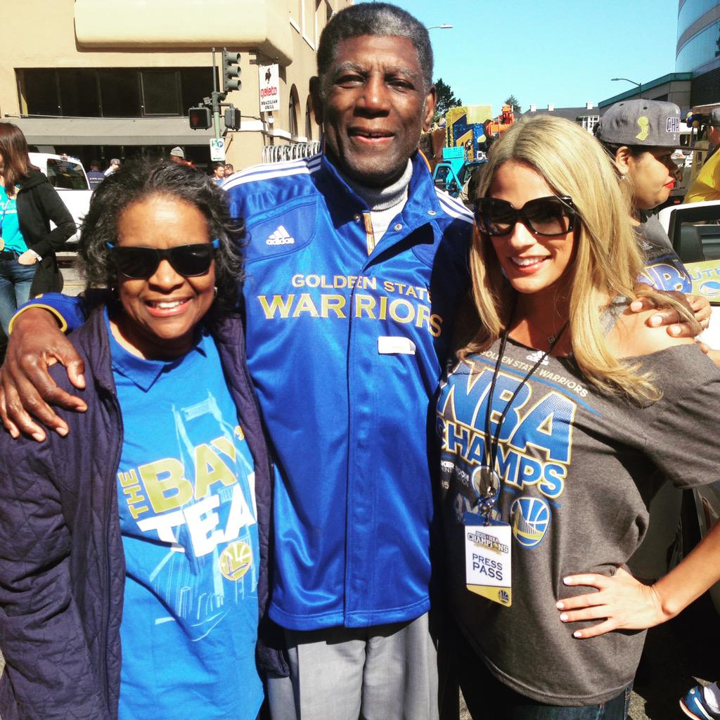 Bay area legend attles & his wife always such a humble and