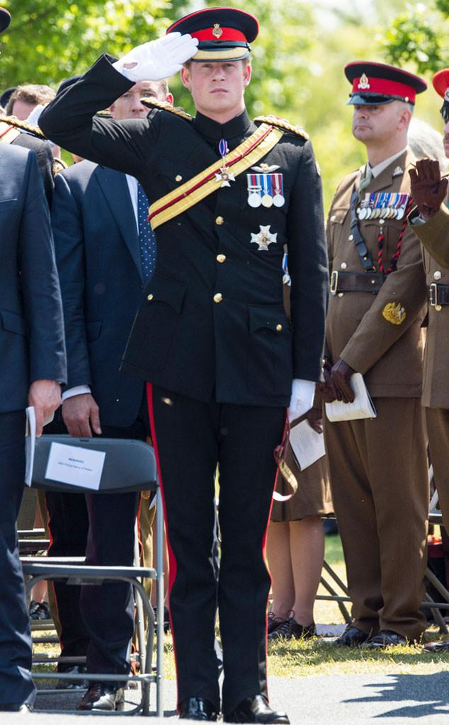 NGL, we're going to miss seeing Prince Harry in uniform.