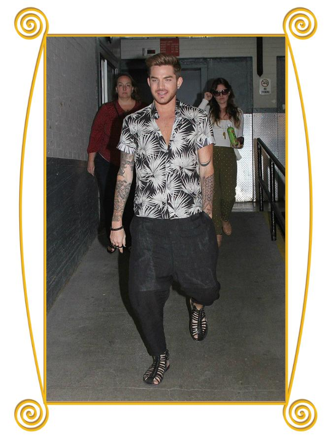 Blog Off: Adam Lambert in MSGM print shirt… http://t.co/h17YeR8VY1 http://t.co/CgS0BnsByt