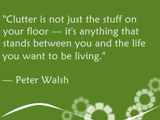 Clear that clutter from your life #simplify #quote  Join https://t.co/0XZewomlDU http://t.co/iFRGuSwkHz