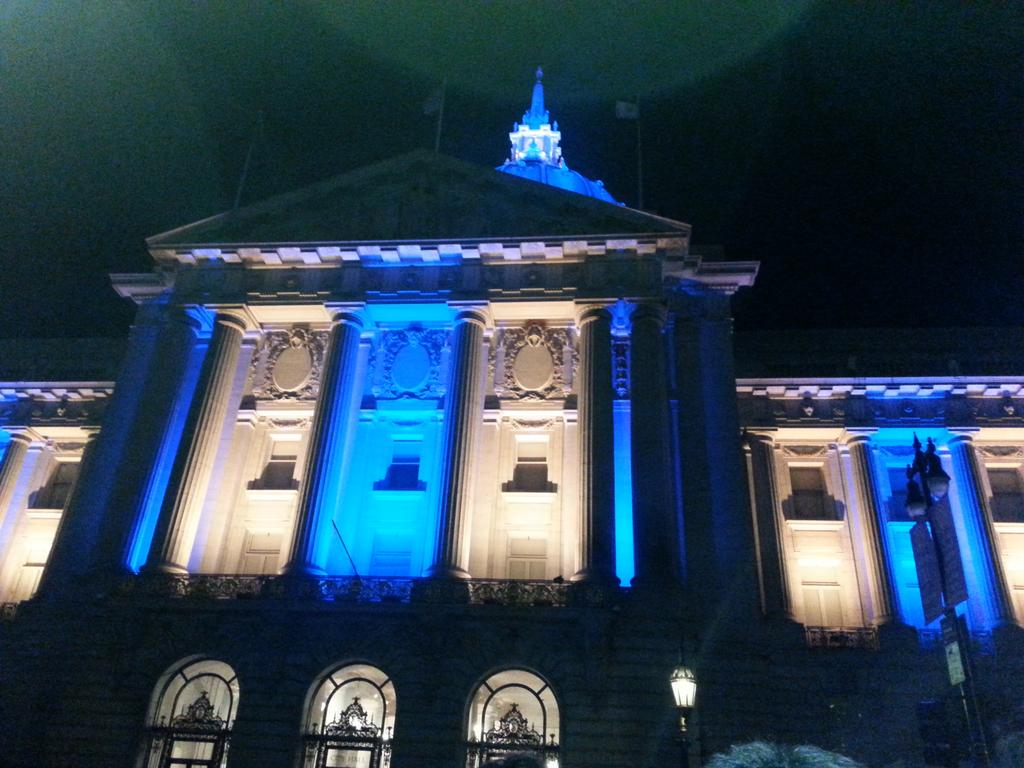 San Francisco City Hall, Happy 100th Anniversary! http://t.co/lSU2zRiwDs