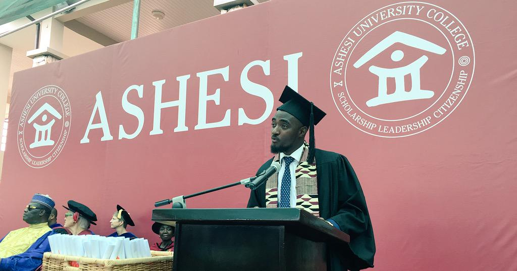 """We came to Ashesi as lumps of coal... today we graduate as diamonds: valuable, and shining."" #Ashesi2015 http://t.co/cSvhFGJ1dE"