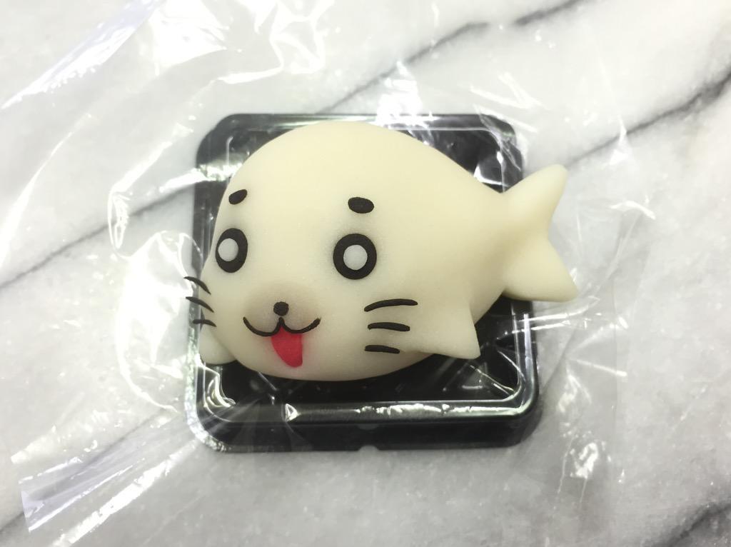 キュー♪ゴマちゃん#少年アシベ #和菓子で作ってみたZ