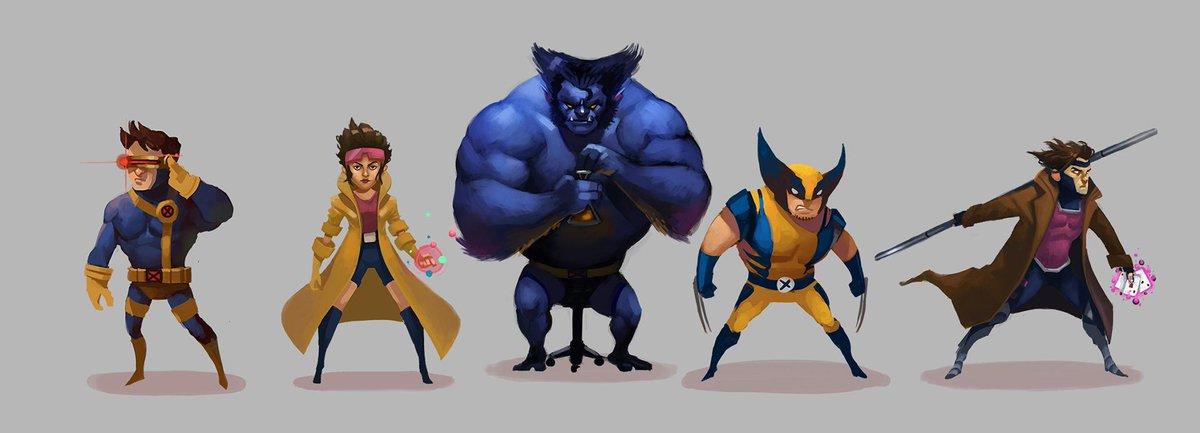 """X-Men lineup"" - who should I add next? #marvel #comicbooks #fanart http://t.co/w8YtXGwfAn"