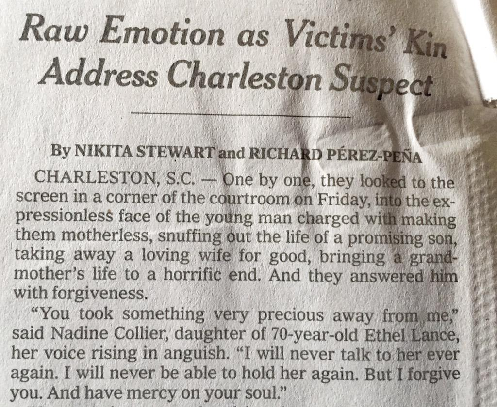 I don't know that I'll ever read a more powerful lede. I just had to stop and put it down for a moment. @nytimes http://t.co/FJamhWbm8J
