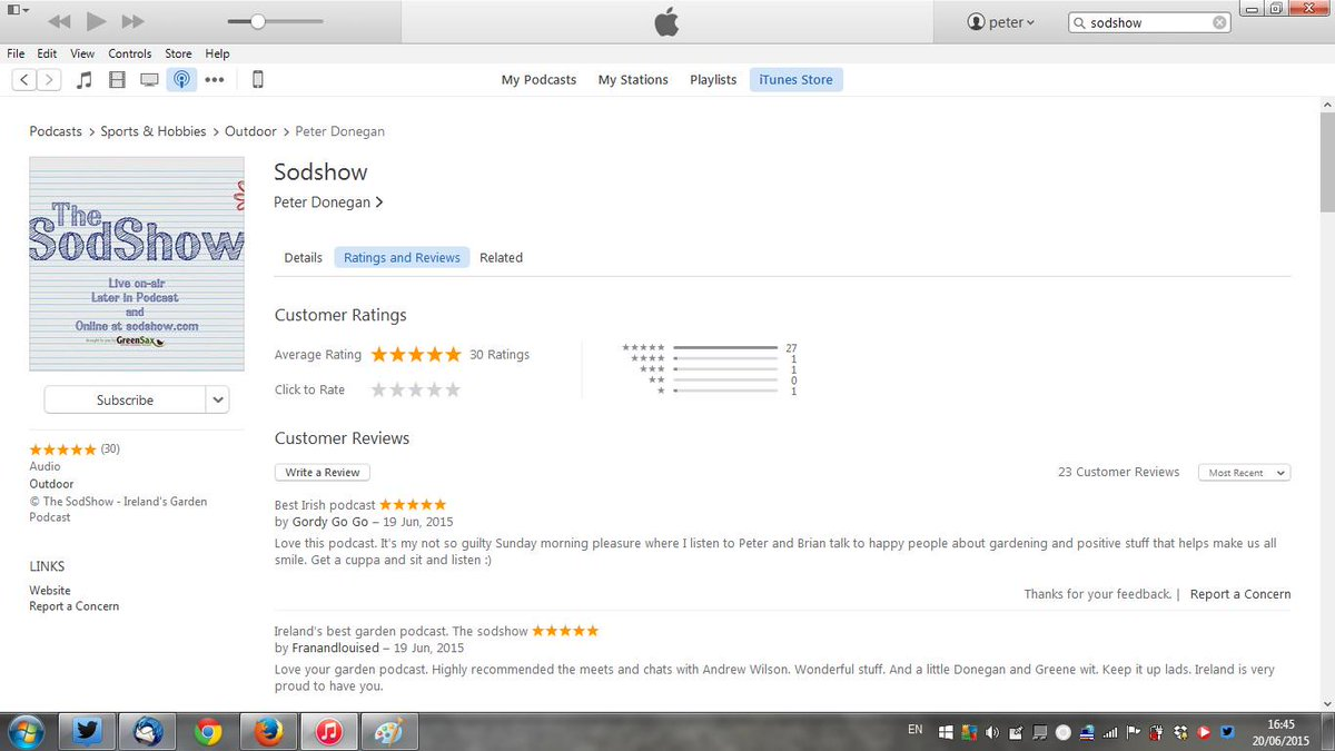 a little rate review for The @sodshow - Ireland's most popular garden podcast. :)  http://t.co/q6PxSK5ZlG http://t.co/Zj9uPPiJ6X