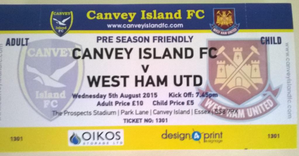 Tickets have been printed for the @CIFC v @whufc_official friendly on Wednesday 05 August - RT if you'll be there! http://t.co/Bm3YoPjuiy