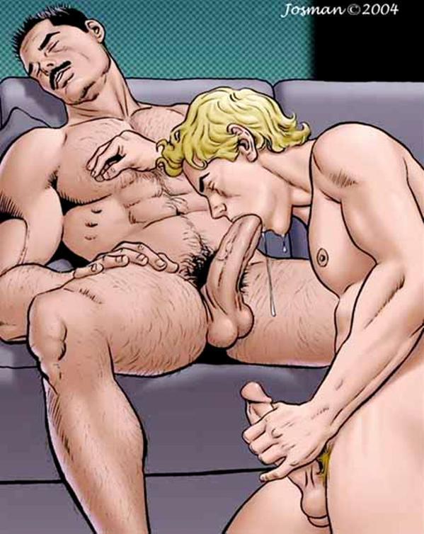 Порно мульт комиксы гей