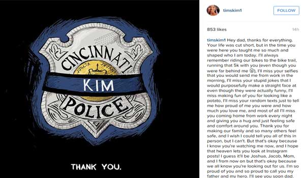Son of fallen police officer leaves emotional Instagram post http://t.co/a4C05PGDbx http://t.co/IIWlTy2H0h