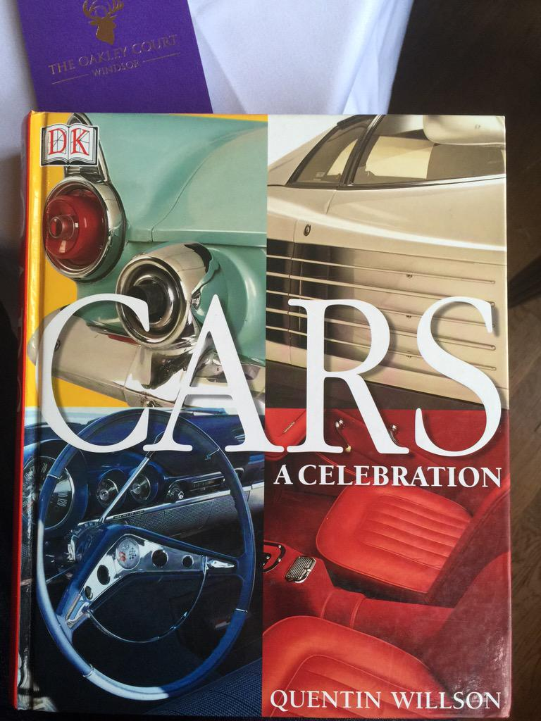Look what I found in a hotel library, according to @QuentinWillson we still have plenty more cars to chose from. http://t.co/etJqZqIuK7