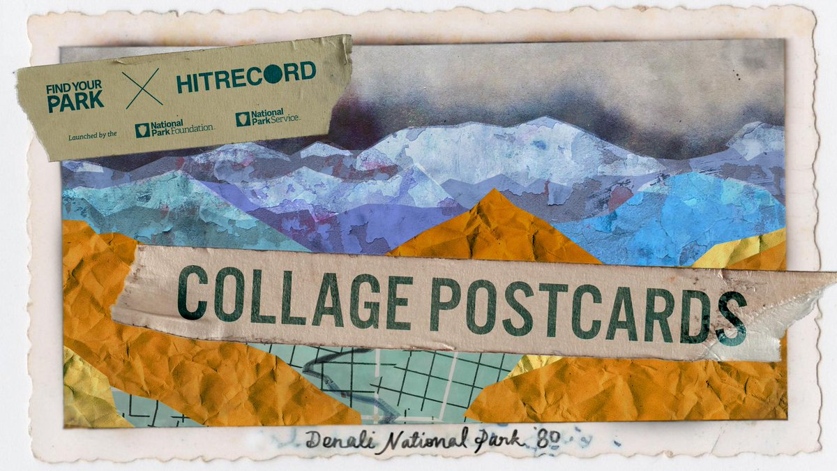 RT @hitRECord: We're making mixed media postcards all about the National Parks. Here's how to get involved: http://t.co/KbwyoA0YJu http://t…